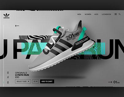 Adidas - U_Path Run Mockups