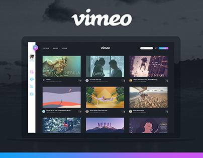 Vimeo (Redesign)