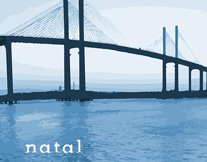 Natal - RN [lettering]