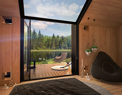 Meditation Eco Cabin | Ozolini, Latvia