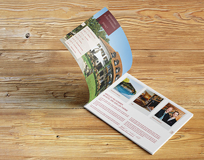 Hotel Brochure Design // Hotel Drei Quellen Therme