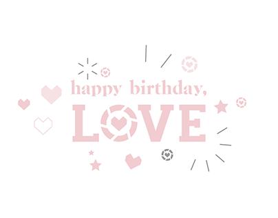 LIKEtoKNOW.it Loves Birthday Animation