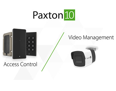 Paxton10 - software/hardware system promo