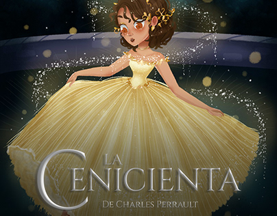 CINDERELLA - CHILDREN'S BOOK ILLUSTRATION