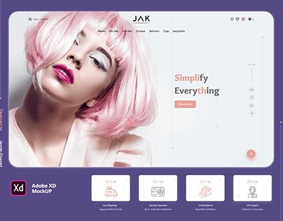 JAK Fashion Website