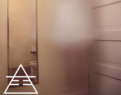 Ghosting - bathroom corner
