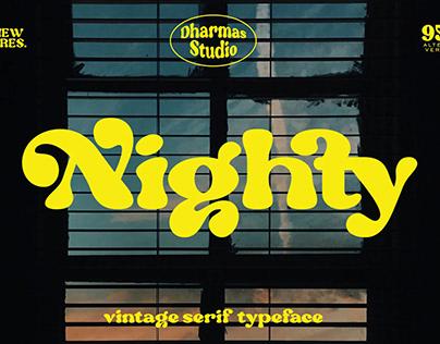 Vintage Serif Typeface