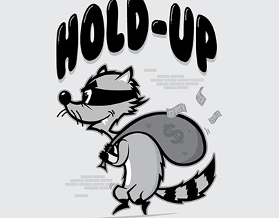 Raccoon Hold-up