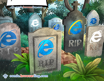 Graveyard - Weekly Web-comic for Developers