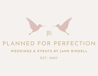 Logo and Branding Design for a Luxury Wedding Planner