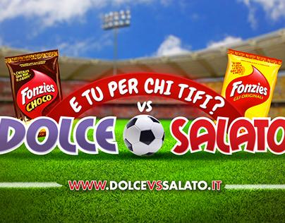 FONZIES Dolce VS Salato || 5sec