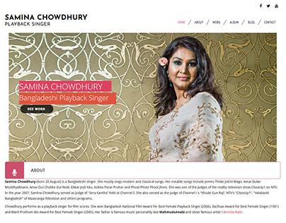 Samina Chowdhury Bangladeshi Playback Singer