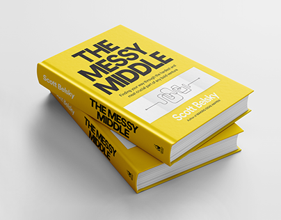 The Messy Middle - Book Cover & Identity Design