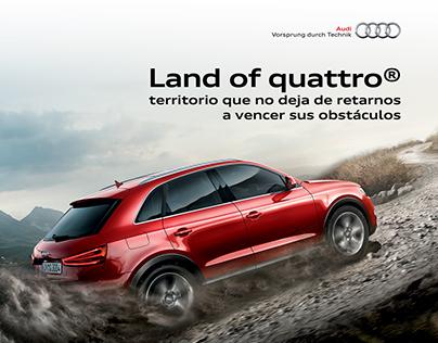 Audi - Colombia Land Of Quattro