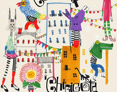 CHIRIGOTA Kids, Print