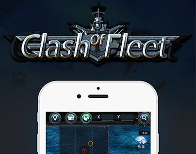 GAME UI - Clash of Fleet