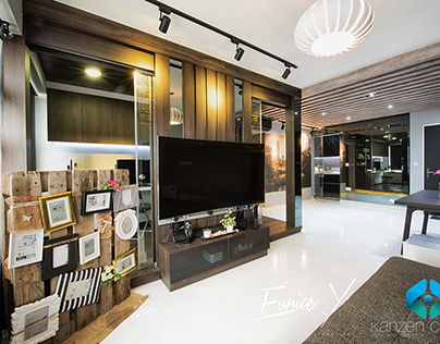 Chic Stylish Apartment- Punggol Topaz