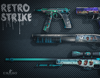 Retro-Strike Weapon skin Collection