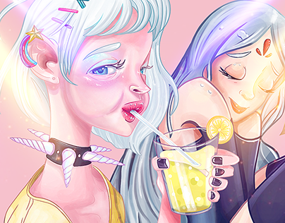 Girls Inspirated - Ilustración