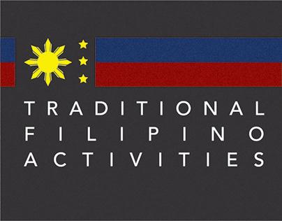 Traditional Filipino Activities