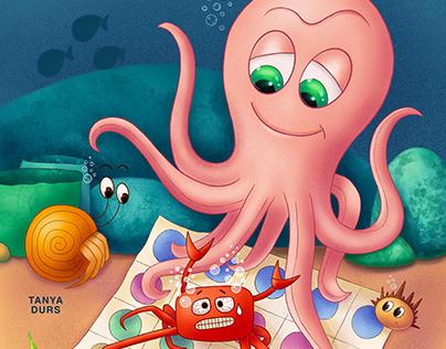 Underwater games - Twister