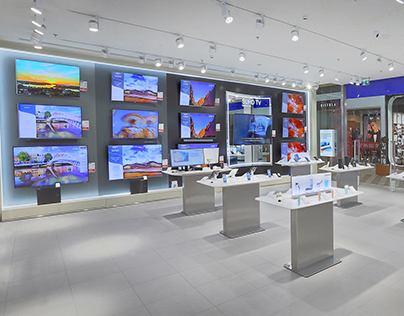 Samsung store by ARS Retail Group