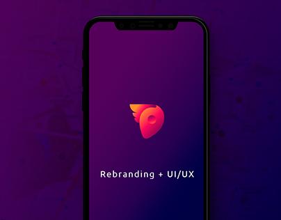 Ezpeed Rebranding + UI/UX