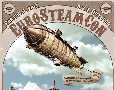 EuroSteamCon Portugal Poster