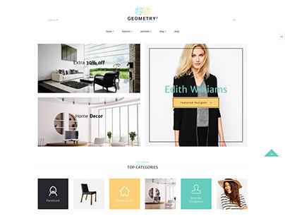 Geometry   Interior Design & Furniture WordPress Theme