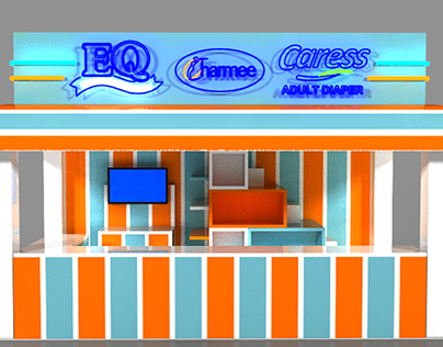 ICE CREAM PARLOR BOOTH
