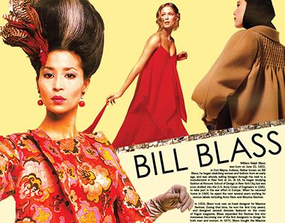 Bill Blass Poster