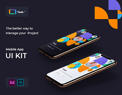 Task+ - Project Management UI kit