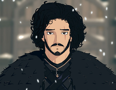 Jon Snow Animated