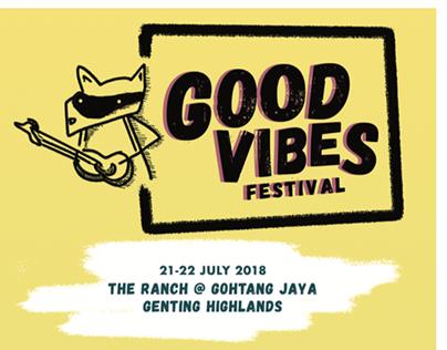 Good Vibes Festival - Web Design 1