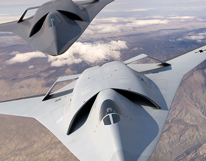 European sixth-generation concept fighter aircraft