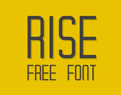 RISE | Free Typeface