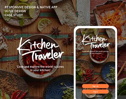 Kitchen Traveler - Mobile app