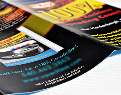 Reckless Driving Brochure