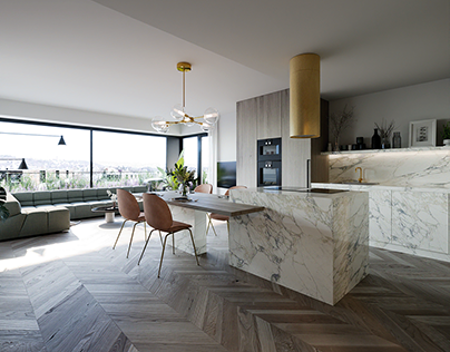 modern apartment visualisations