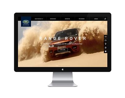 Land Rover website