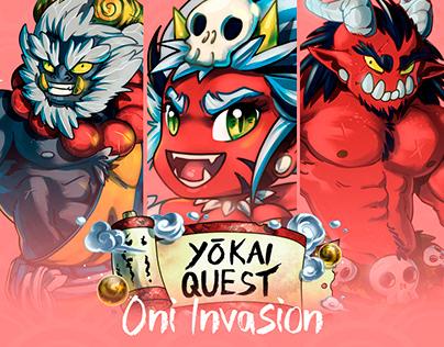 Yokai Quest - Oni invasion · Yokai
