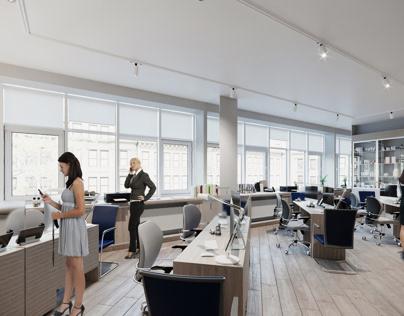 Vis render office