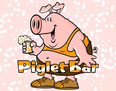 Piglet Bar Mascot