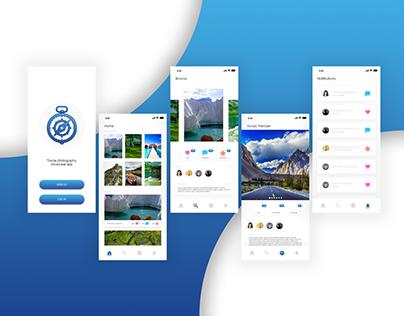 Photo-tourism App Design