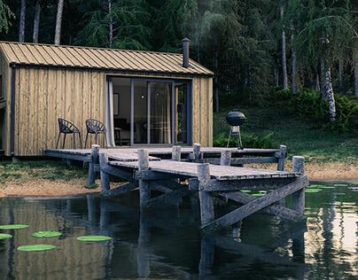 Off-Grid lake house