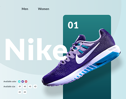 Shoes landing page