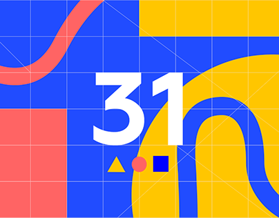 Agency's website: in homage to Kandinsky