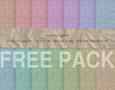Free! Linen Papers Package