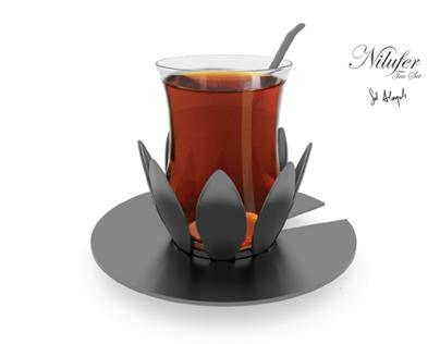Nilufer Tea Set