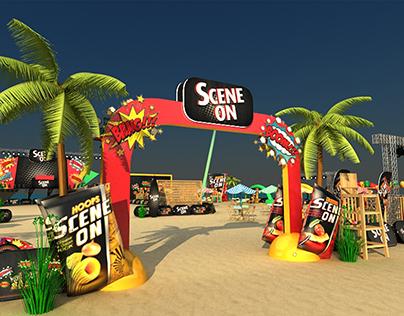 SCENE ON Beach event